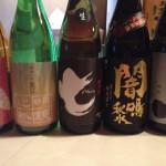 日本酒到着