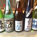 青い日本酒