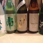 秋だから日本酒旨いね!